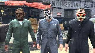 GTA 5 Часть 23 Блиц игра, Война с законом