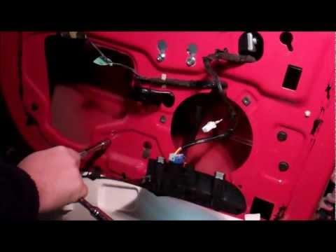 2001 Dodge Dakota Quad Cab Driver Side Rear Power Window Removal/Replacement
