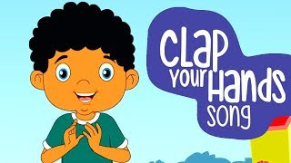 Clap Your Hands | English Nursery Rhymes | Songs For Kids | Animated Nursery Rhymes | Amulya Kids