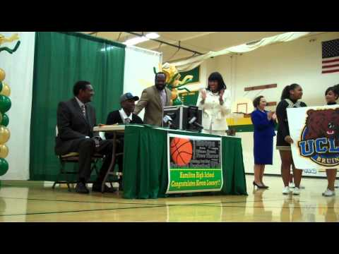 Video: How Milwaukee Hamilton's Kevon Looney announced his college decision