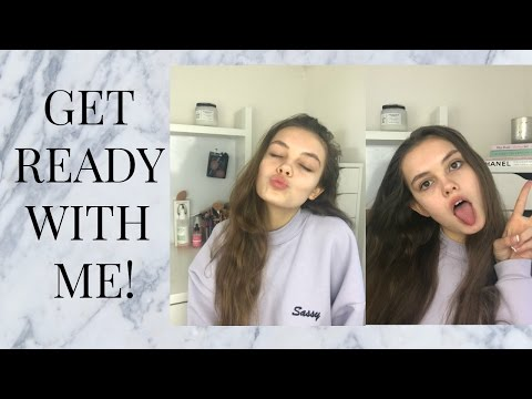 GET READY WITH ME 2017!   India Grace