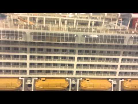 Exact replica of Disney cruise liner