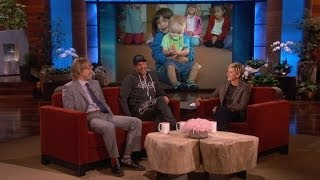 Owen Wilson and Woody Harrelson's Kids Are Friends