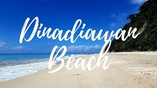 Travel VLOG: Dinadiawan Beach, Dipaculao, Aurora Province, Philippines
