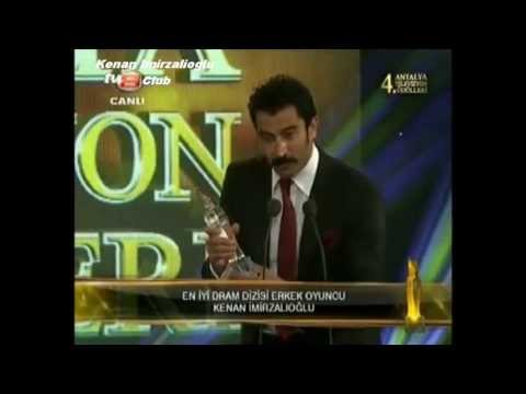 Kenan Imirzalioglu ~ Best Drama Actor - 4. Antalya Tv Awards (27 4 2013) video