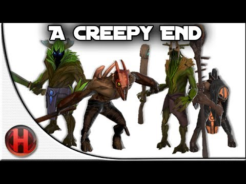 Dota 2 - A Creepy End