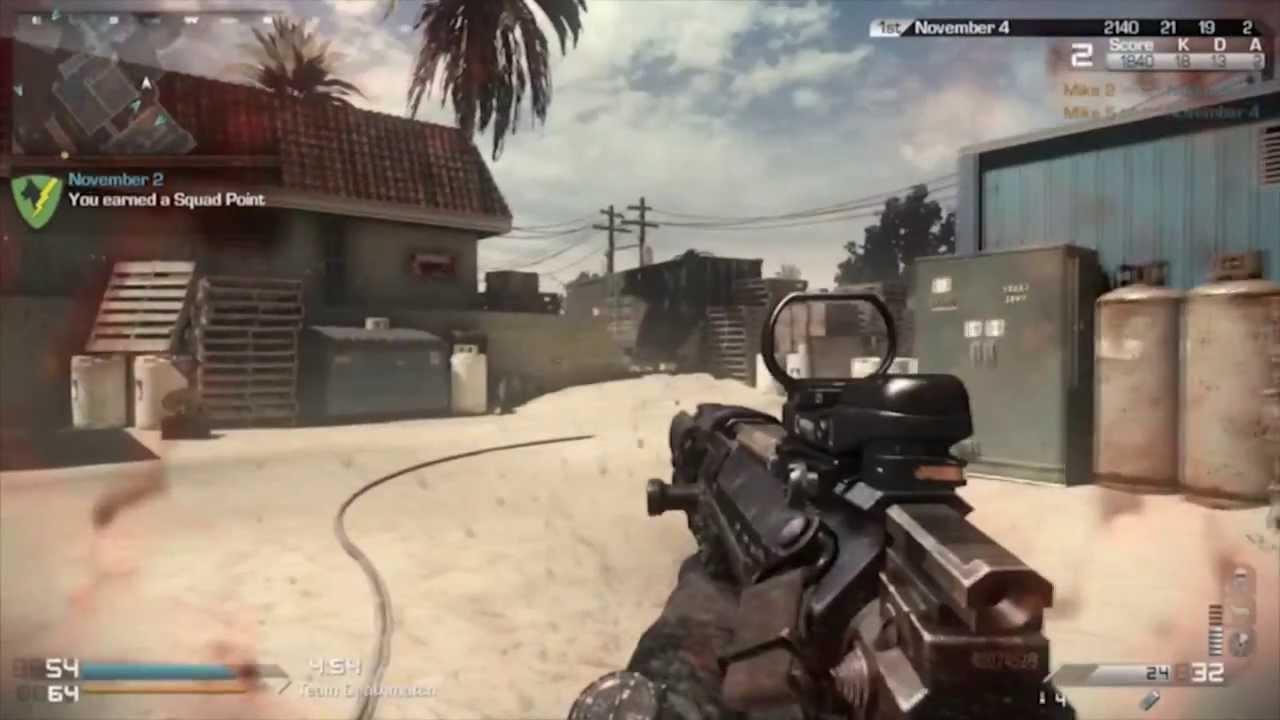 Call Of Duty Ghosts Crancked En Octane MTAR Gameplay