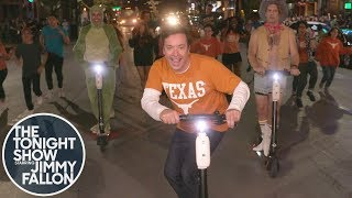 "Jimmy Performs ""Thank God I'm a Country Boy"" on the Streets of Austin"