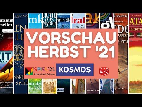 Spiel 2021 Essen • KOSMOS Neuheiten • Vorschau / 2. Halbjahr 2021 Teil 2