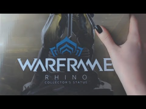 Warframe: Rhino Collector's Statue UNBOXING
