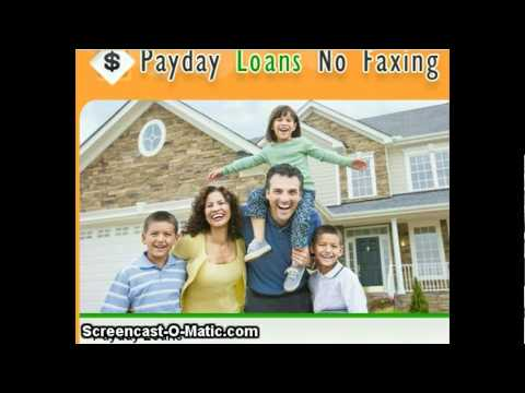 Payday Loans No Faxing- Get instant loans deals
