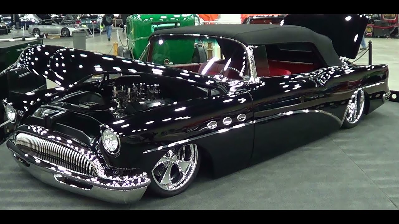 1954 Buick Convertible Street Rod Youtube