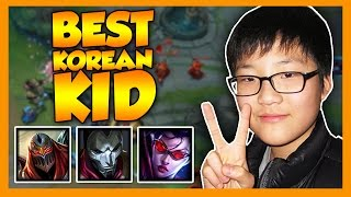 Best Korean Kid - League of Legends