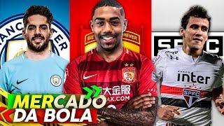 Malcom indo para CHINA, São Paulo acerta chegada de Pablo, Corinthians, Flamengo e mais !
