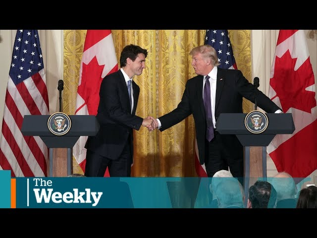 Is Trudeau 39two-faced39? Trump39s changing diplomacy rules  The Weekly with Wendy Mesley