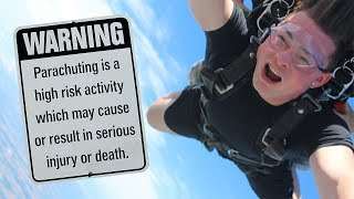 FALLING TO MY DEATH!