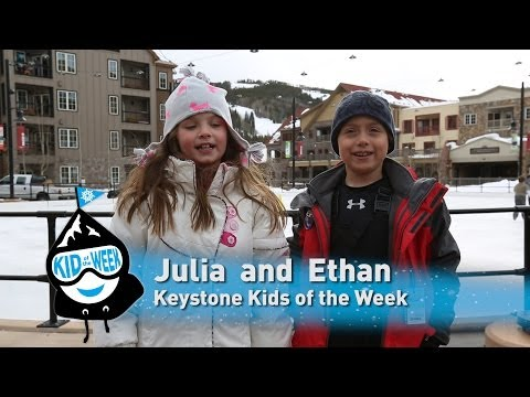 Keystone Kids of the Week - Julia and Ethan!