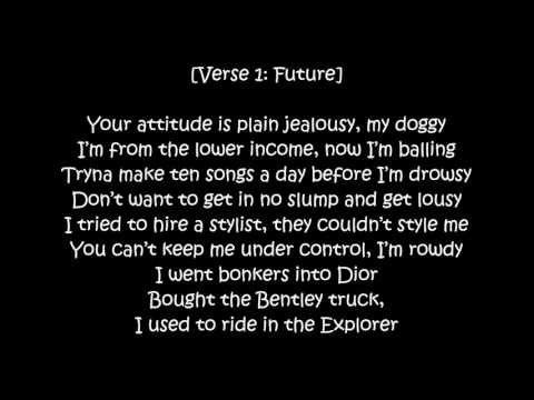 16. Benjamins Burn (Lyrics) - Future Feat. DJ Esco (Project E.T. Esco Terrestrial)