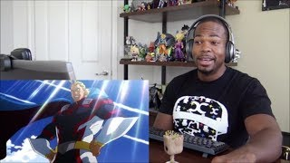 My Hero Academia Two Heroes First Official Dubbed Trailer REACTION!!!