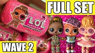 LOL Surprise Under Wraps Wave 2 FULL SET | L.O.L. Series 4 First Look Real Dolls