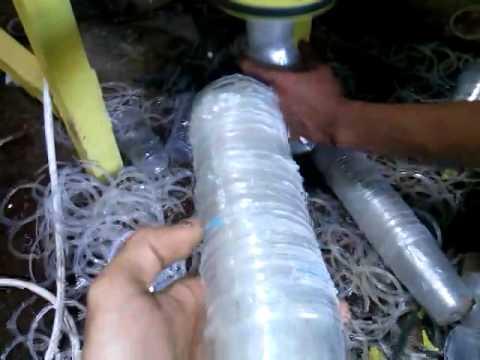 Mesin Pemotong Ring PP Gelas Plastik