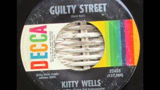 Watch Kitty Wells Guilty Street video