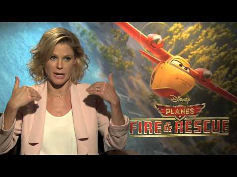 PLANES: Fire and Rescue Interview with Julie Bowen