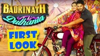 Download Badrinath Ki Dulhania First Look OUT | Alia Bhatt, Varun Dhawan - Upcoming Bollywood Movie 2017 3Gp Mp4