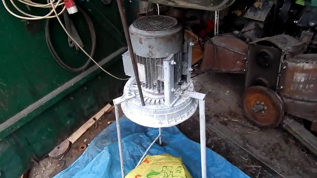 Зернодробилка своими руками из 564