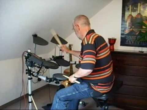 "My first drum performance on my new E-Drum ""Yamaha DTXplorer"