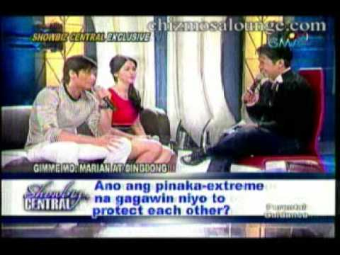 Marian Rivera and Ding Dong Dantes on Showbiz Central: Gimme Mo