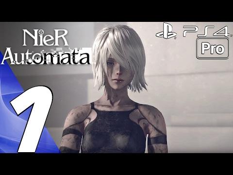 Nier Automata - Gameplay Walkthrough Part 1 - Prologue (Full Game) PS4 PRO