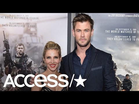Elsa Pataky Says Chris Hemsworth Was Very Young When They Had Kids  | Access