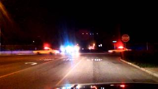 Armed suspect police chase- Camera Charlie