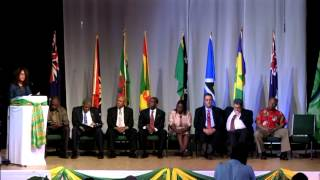 58th Meeting of the OECS Authority - Opening Ceremony