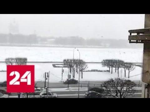 """""""Погода 24"""": снегопады сходят на нет, на смену им идут морозы - Россия 24"""