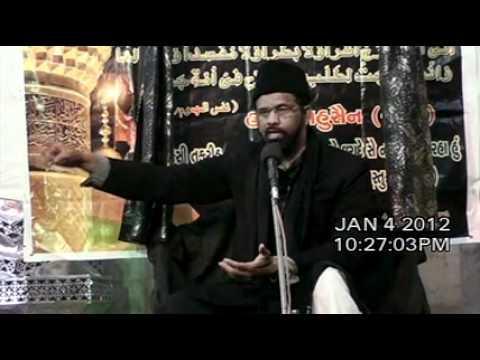 India Maulana Kamran Haider Majlis 9 Asra Muharram/Saffar 1433/2011