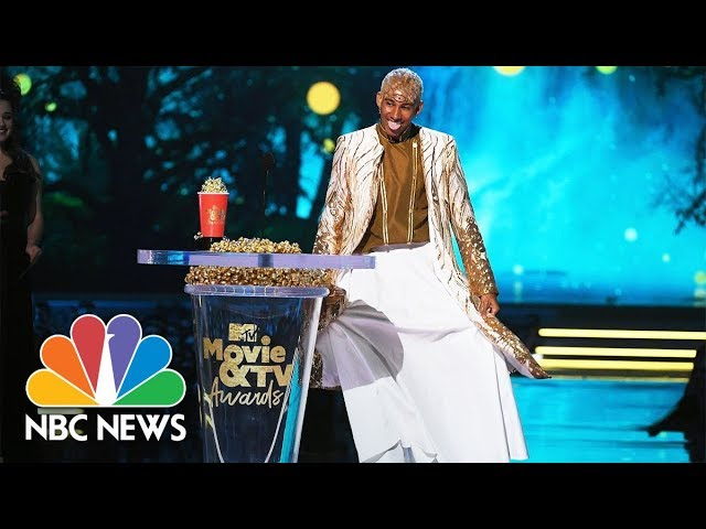 LGBTQ Entertainers Honored At The 2018 MTV Movie & TV Awards   NBC News