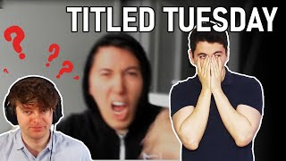 DISASTROUS time scrambles in Titled Tuesday