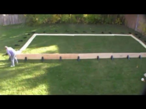 Building A Back Yard Ice Rink YouTube