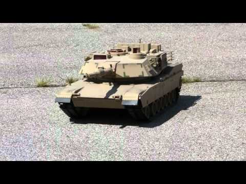 Giant M1 Abrams RC Tank