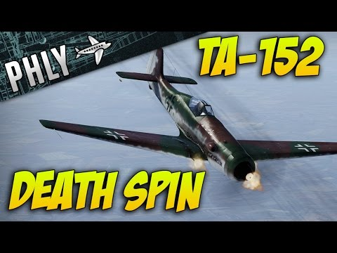 War Thunder - Sim Battle Gameplay Ta-152 Death spin