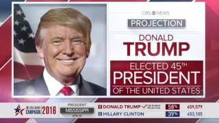 Download Every Network that Announce Donald Trump WINS Election 2016 Compilation Video 3Gp Mp4