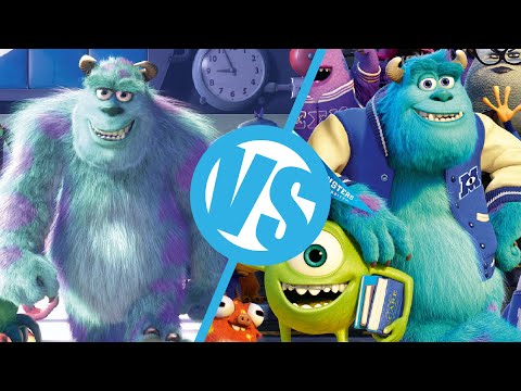 Monsters Inc. VS Monsters University : Movie Feuds ep66