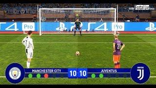 PES 2019 | Final UEFA Champions League | MANCHESTER CITY vs JUVENTUS | Penalty Shootout