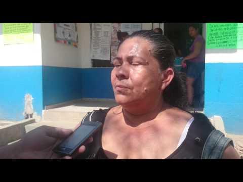 La líder comunal Maribel Miranda Bolaño denuncia abandono del gobierno distrital