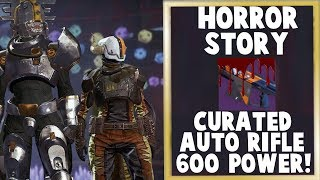 Festival of the Lost - Horror Story Auto Rifle!  600 POWER, CURATED