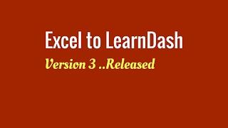 Excel to LearnDash Version 3 Quiz Import