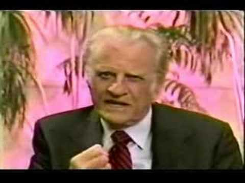 Billy Graham Says Jesus Christ is Not the Only Way
