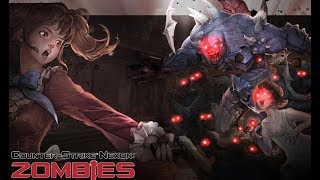"""Counter-Strike Nexon Zombies - Crazy Italy with """"CRAZY BOTS"""""""